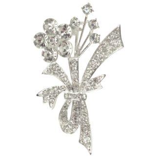 Kingsland Dressage Poussin plastronspeld zilver