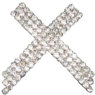 Kingsland D Sassari plastronspeld zilver