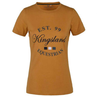 Kingsland Agda tshirt geel